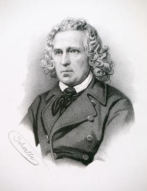 Jacob Grimm als Abgeordneter der Nationalversammlung