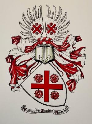 Wappen der Familie Andreae