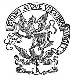 Signet von Johann Andreae d. J.