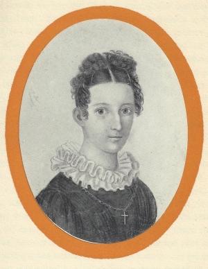 Cleophea Schmid, später verh. Bansa