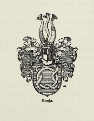 Wappen der Familie Bansa