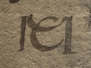 Monogramm von Martin Caldenbach