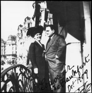 Enrico Caruso und Else Kleinsteuber