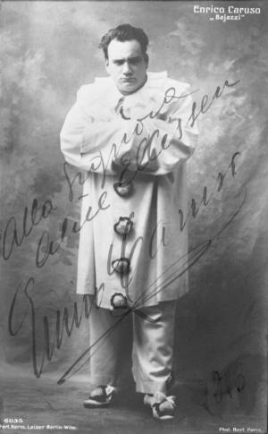 Enrico Caruso als Canio