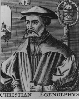 Christian Egenolff