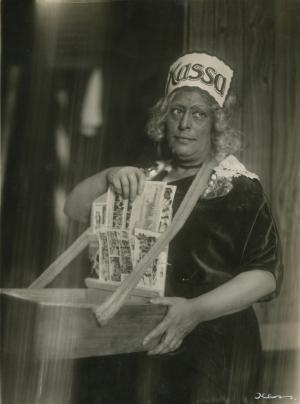 Mathilde Einzig als Bibbo