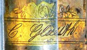 Klingensignatur von Carl Glauth
