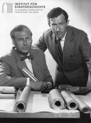 Max Meid (re.) und Helmut Romeick