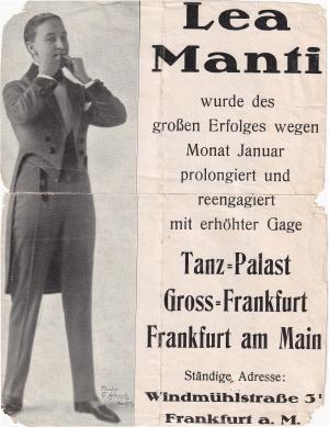 Lea Manti in Ffm.