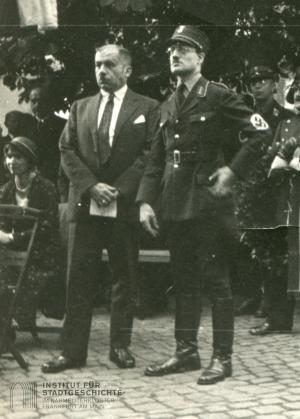 Reinhold Niemeyer (li.) und Karl Linder