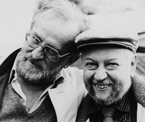 Horst Lippmann (re.) und Fritz Rau