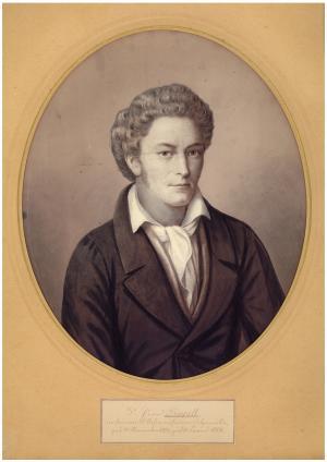 Eduard Rüppell im 30. Lebensjahr