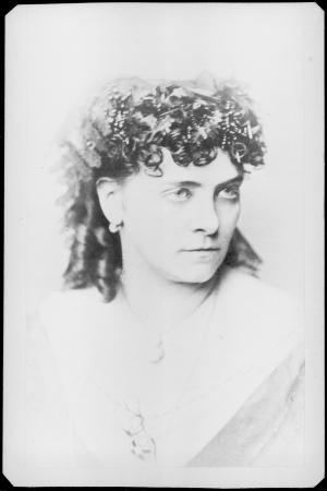 Fanny Janauschek als Prinzessin Eboli