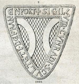 Siegel des Schultheißen Konrad von Sachsenhausen