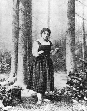 Hedwig Schacko als Gretel