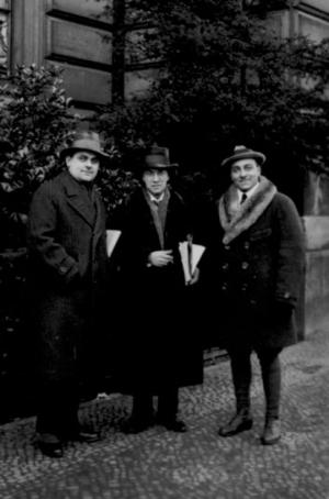 John Gläser, Franz Schreker und Erik Wirl