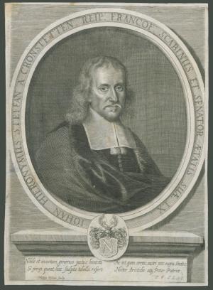 Johann Hieronymus Steffan von Cronstetten