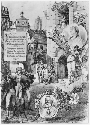 Huldigungsblatt für Annette Stoltze