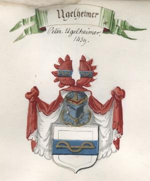 Wappen von Peter Ugelnheimer d. Ä.